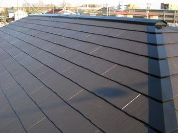 遮熱効果のある丈夫な屋根になり感激しております。