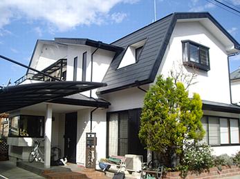安心して暮らすことができる屋根を施工していただき、感謝しております。